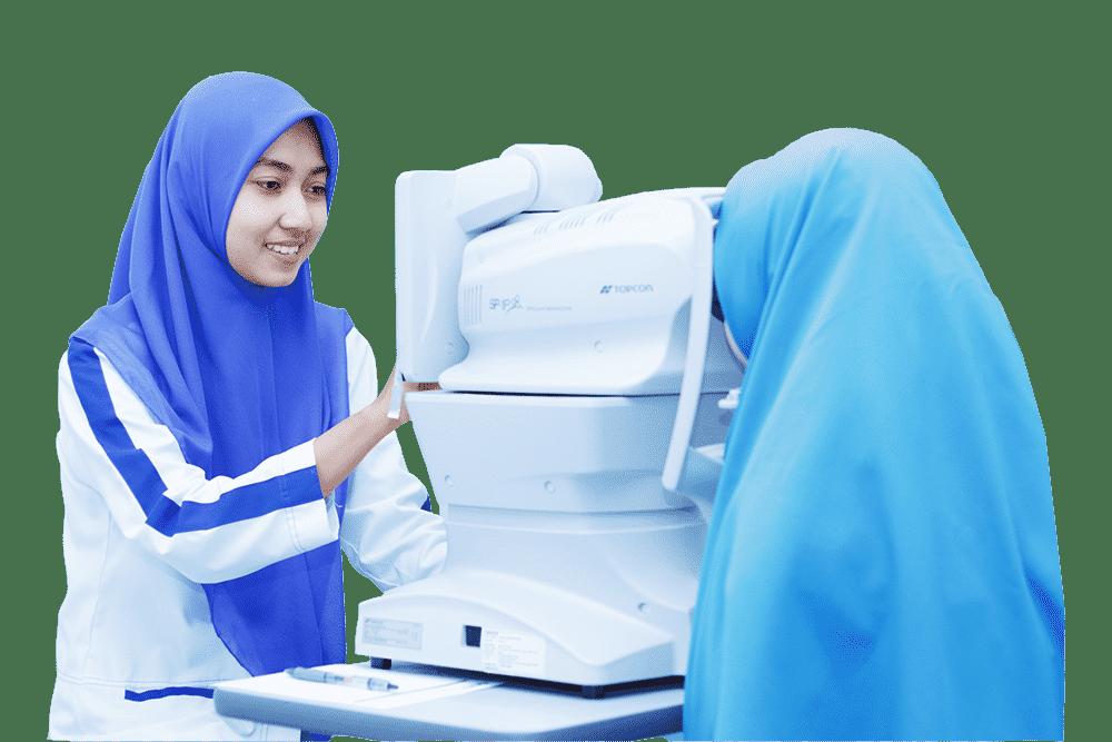 Klinik Mata KMU Mengabdi