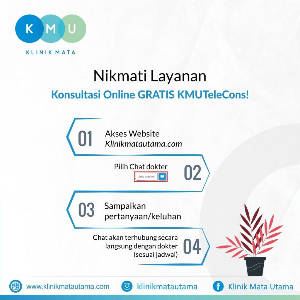 Cara menggunakan konsultasi online KMU Telecons: